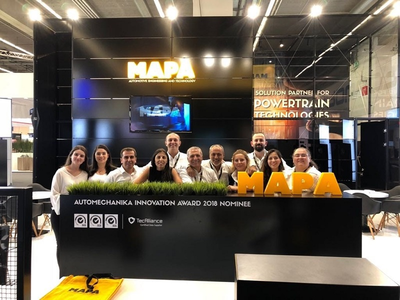 MAPA, Automechanika Innovation Award'a Aday Gösterildi
