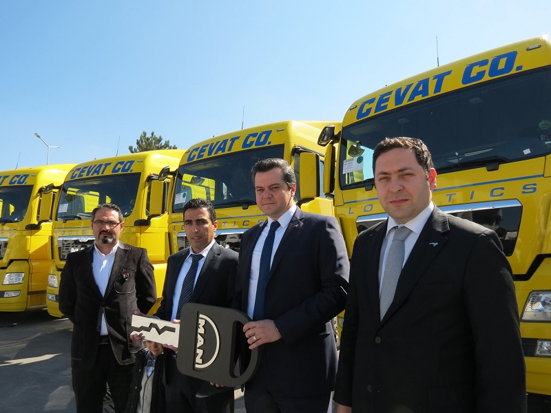 Cevat Logistics'e 20 MAN TGX EfficientLine