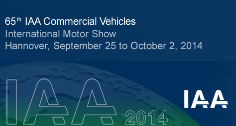 IAA HANNOVER COMMERCİAL VEHİCLES 2014(Germany)
