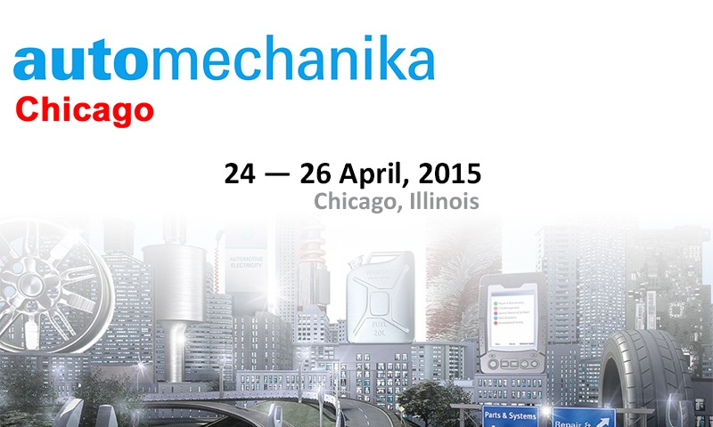 AUTOMECHANİKA CHİCAGO 2015(United States of America)